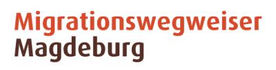 Willkommen in Magdeburg Logo